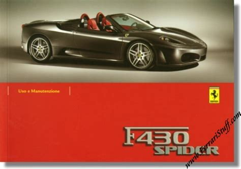 auto manual repair 2008 ferrari f430 navigation system ferrari f430 spider brochures owners manuals tool kits memorabilia 2005 2006 2007 2008