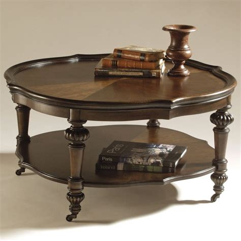the magnussen t1255 ferndale wood coffee table has a