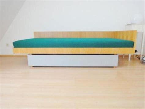 bett 70er jahre original 60er jahre design bett 90 x 200 mit matratze