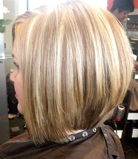 medium length stacked bob hairstyles medium length stacked bob haircut