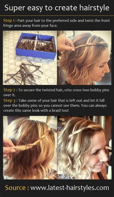 easy to create hairstyle hairstyles how to