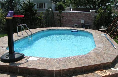 piccole piscine da giardino 50 foto di piccole piscine interrate per piccoli giardini