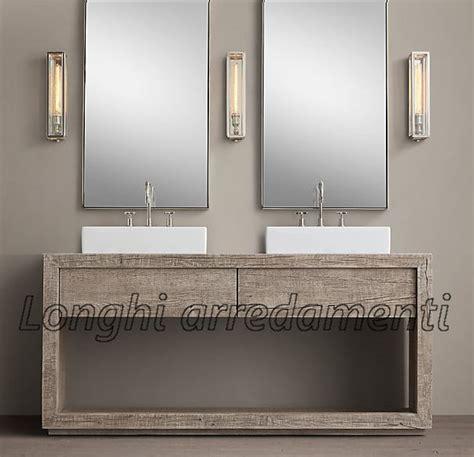 mobile bagno legno grezzo mobili da bagno in legno grezzo mobilia la tua casa