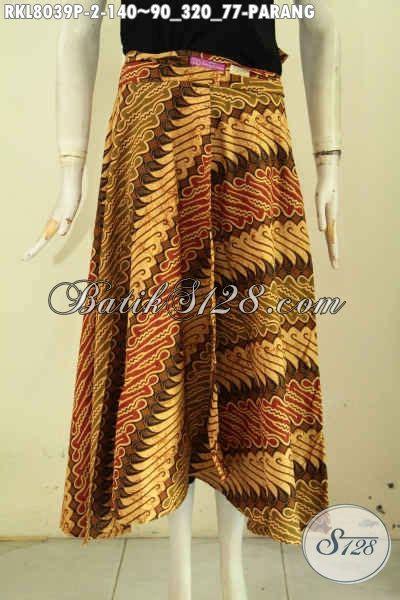 Rok Batik Lilit Parang Barong rok batik kekinian motif parang nan elegan bawahan batik