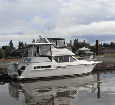 Carver Aft Cabin Boats For Sale by Carver 355 Aft Cabin 1998 Used Boat For Sale In Comox