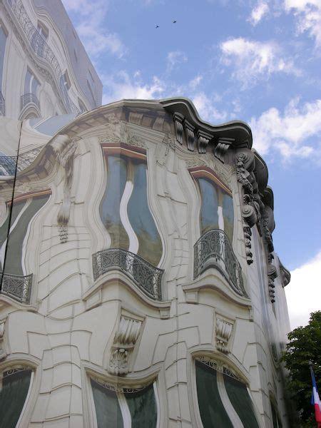 Paris, trompe l'oeil Avenue George V   Trompe l'oeil