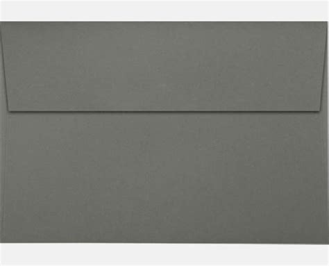 smoke gray a8 envelopes square flap 5 1 2 x 8 1 8