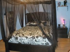 Diy Canopy Bed Frame Ideas For Diy Canopy Bed Frame And Curtains Curtains Design