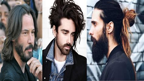 best haircuts for men 30 effortless long hairstyles for