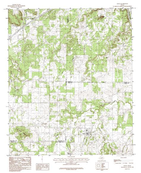 lipan texas map lipan topographic map tx usgs topo 32098e1
