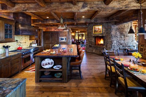 log home kitchen ideas 10 rustic kitchen designs that embody country life freshome com