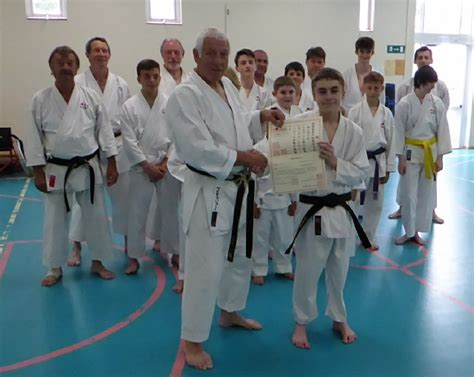 new dan grade 187 newport isle of wight shotokan karate