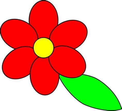 gambar vektor merah kelopak bunga domain publik vektor