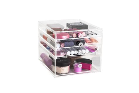 Acrylic Box Palette Acrylic Makeup box the makeup box shop australia