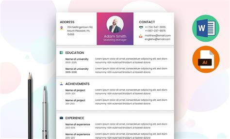 marketing manager resume template free resummme