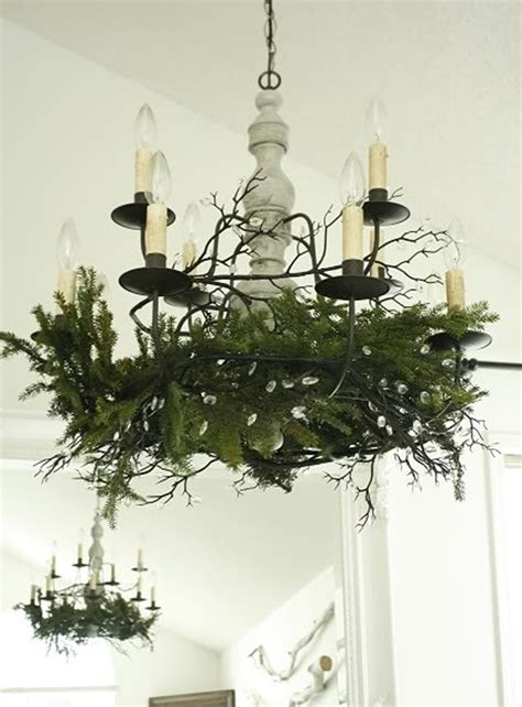Ceiling Light Fixtures For Dining Rooms white christmas dining room with creative decorations