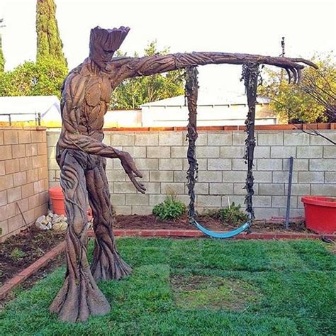 Groot Backyard Swing Guardians Of The Playground