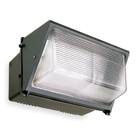 Hid Outdoor Lighting Lithonia Lighting Outdoor Bronze Metal Halide Sodium Wall Pack Twr2 400m Tb Scwa Lpi The Home