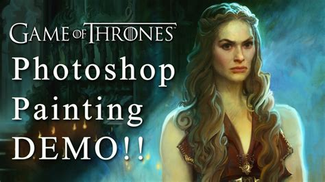 tutorial photoshop game of thrones game of thrones photoshop painting singer sargent