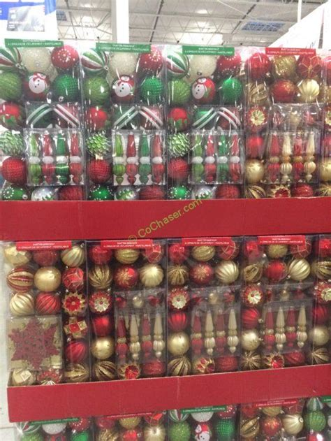 when to buy christmas decorations at costco shatter resistant ornaments 50 pc costcochaser