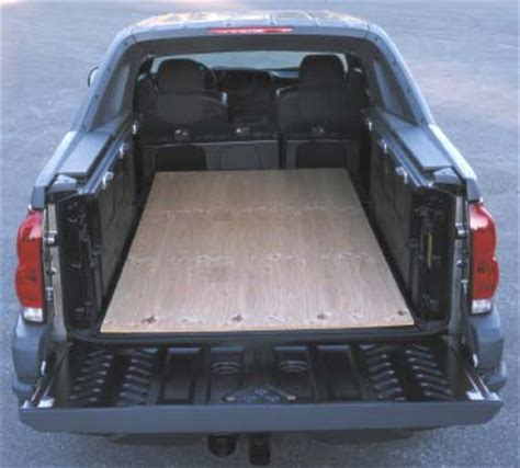 chevy avalanche bed size chevrolet avalanche