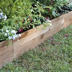 bordure 224 planter douglas bois marron h 45 x l 90 cm