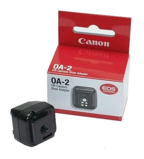 canon off camera shoe adapter oa 2 flash shoe for off camera