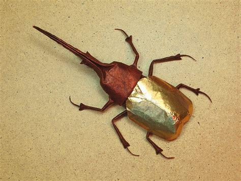 Origami Hercules Beetle -