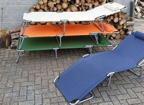 tuin stretcher stretcher ligbed verstelbaar beige jouwveilingen