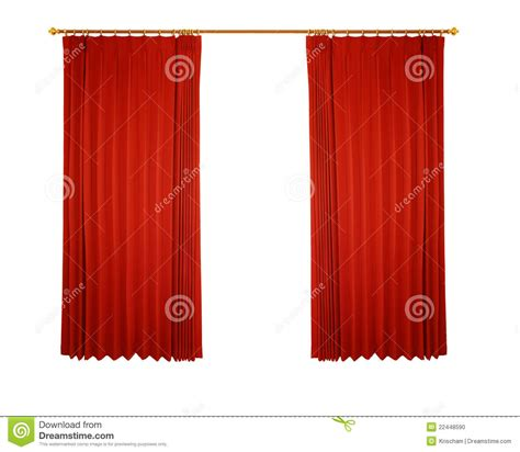 tenda rossa tenda rossa con il percorso illustrazione di stock