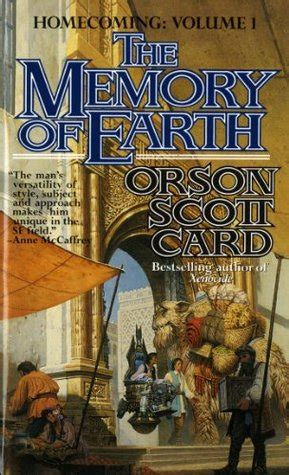 the memory of earth homecoming 1 by orson card