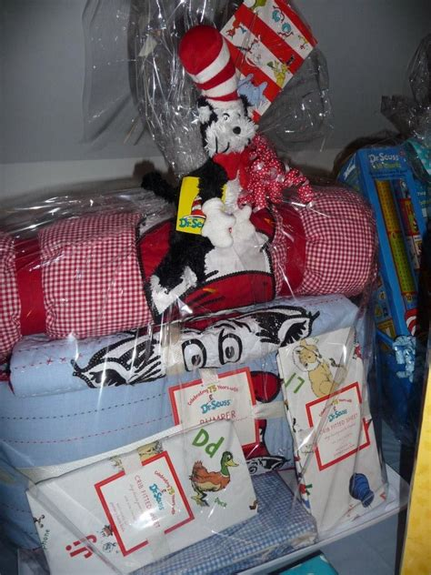 Dr Seuss Baby Shower Gifts by Dr Seuss Gift Basket For A Baby Shower Baby Boy