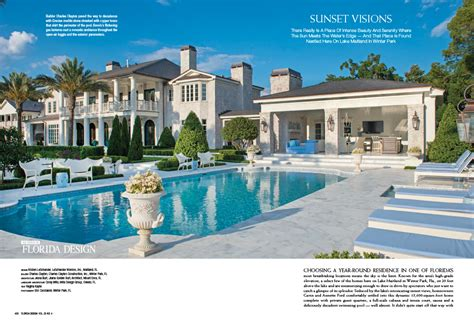 florida style winter park remodel featured in florida design magazine