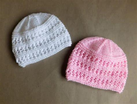 newborn knitted hats vintage pique rib hat allfreeknitting