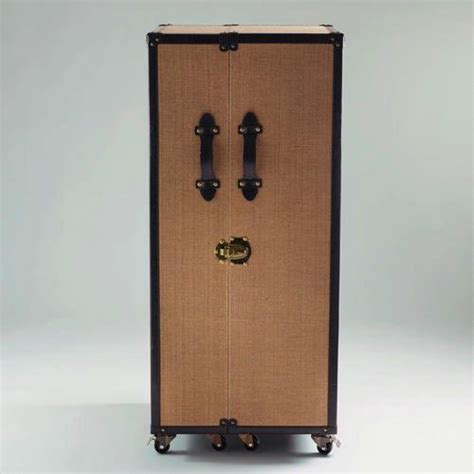 Trunk Bar Cabinet by Ludlow Black Trunk Bar Cabinet