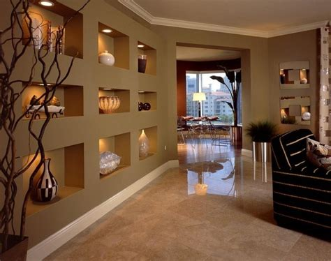 Decorating Ideas For Living Room Wall Niche Make Wall Niches And Create More Storage Space Room