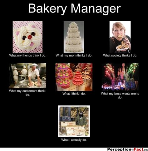 Bakery Manager Needed 2 by Bakery Manager What Think I Do What I Really