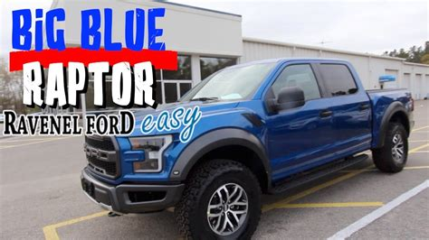 Ford Raptor Blue by 2018 Ford Raptor Truck In Blue I M Liking It