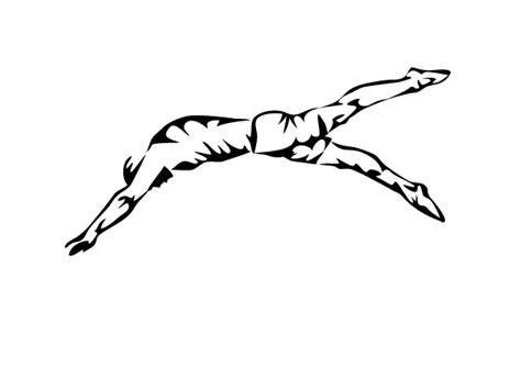 imagenes de niños nadando para colorear adhesivo deportivo de nataci 243 n