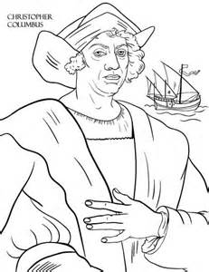 christopher columbus coloring pages 1000 images about thanksgiving on