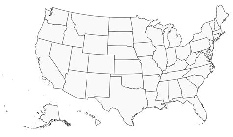 united states map projection free blank united states map in svg resources