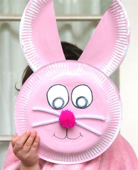 cute easter crafts     paper plate parenting