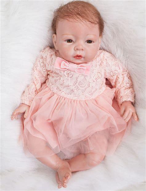 Gamis New Babydoll reborn baby dolls 22 quot handmade lifelike newborn real doll gift ebay