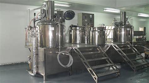 design manufacturing equipment co cosmetics cream lotion manufacturing equipment vacuum