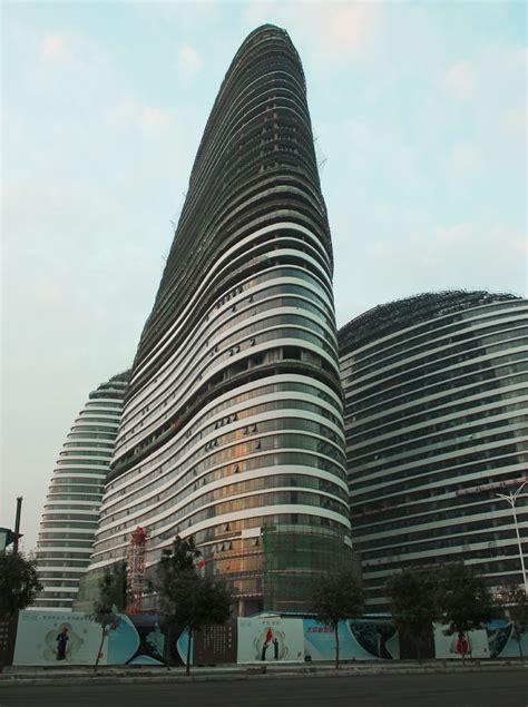 designboom beijing wangjing soho in beijing by zaha hadid nears completion