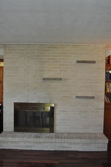 how to update fireplace need ideas on how to update our brick fireplace