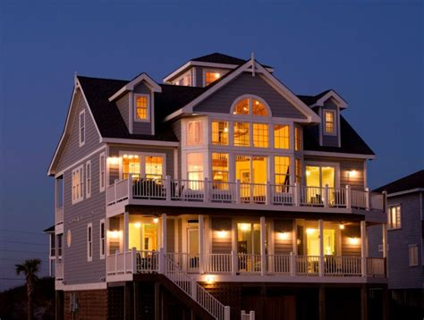 Spectacular Oceanfront Soundview Homeaway North Topsail House Rentals