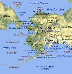 us map where is alaska us history alaska