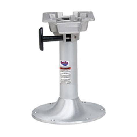 Pedestal Height Lakesport Swivl Eze 174 2 3 8 Quot Fixed Height 16 Quot Pedestal