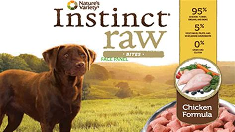 recalled dogs instinct chicken formula food recalled due to salmonella risk abc7ny